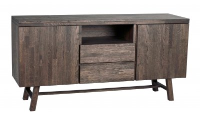 Brooklyn sideboard mörkbrun ek